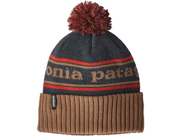 Patagonia Powder Town Beanie park stripe/mojave khaki